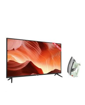 MultyNet 40 Inch Certified Android TV - 40NX6 + National Deluxe Automatic Iron