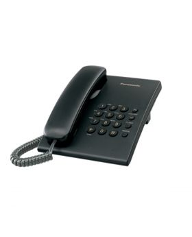 Black Official Panasonic Home Telephones KX-TS500