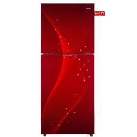 Orient Crystal 380 Liters Refrigerator Space Red