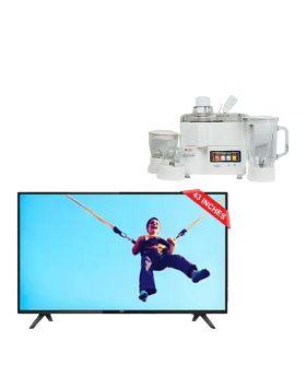 """Philips 5800 Series, 43"""" Ultra Slim Full HD LED Smart TV Full HD 43PFT5813_98 + National Juicer, Blender, Grinder & Dry Mill JPN-668 (4 in 1)"""
