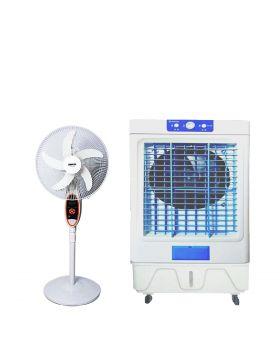 TOYO AIR COOLER TC947 + SOGO Rechargeable Fan JPN 633