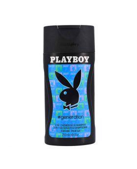 Playboy Generation 2 in 1 Shower Gel & Shampoo for Men 250ML
