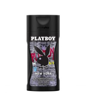 Playboy New York 2 in 1 Shower Gel & Shampoo for Men 250ML
