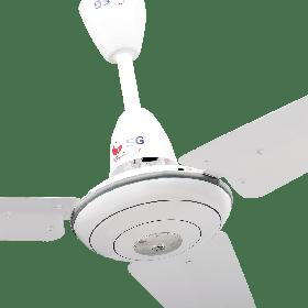 "SG Deluxe Series Ceiling Fan 34"" inch Aerodynamic Design White"
