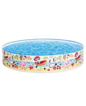 "INTEX Snapset Pool (5' X 10"") +/- 1.25cm X 25cm"