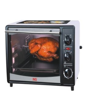 National Gold OVEN TOASTER 18L WITH TOP TRAY AND ROTISSORIE 1300W
