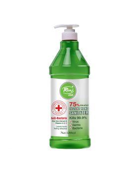 Rivaj UK Instant Hand Sanitizer Aloevera Extract - 1200ml