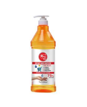 Rivaj UK Instant Hand Sanitizer Double Clean Hands - 1200ml
