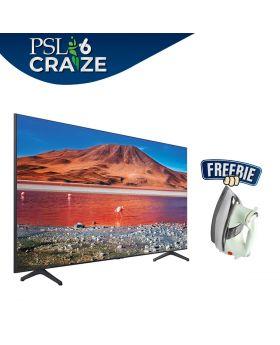 Samsung Smart Led TV 55 TU7000 + National Deluxe Automatic Iron