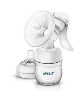Philips Avent Manual breast pump with bottle SCF330/20