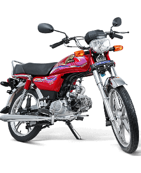 Crown CR 70 CC Self Start Alloy Rim Without Registration