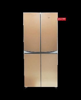 Refrigerator-side by side-4 door ref