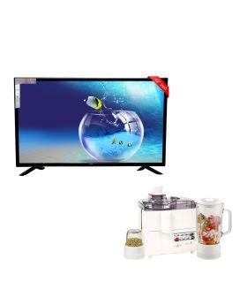 """SG 42"""" Inch Led Tv Boom Boom Series + National 3 In 1 Juicer, Blender & Dry Mill SP-178-J"""