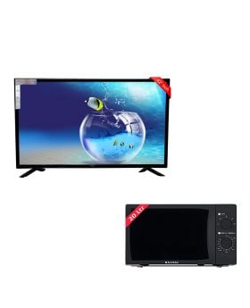 "SG 42"" Inch Led Tv Boom Boom Series + EcoStar Microwave Oven 20 Ltrs EM 2023BSM"