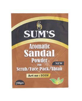 Sum's Aromatic Sanadal Wood Grain – Scrub