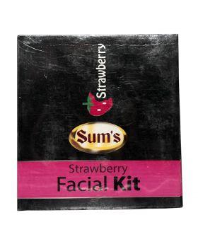 Sum's Strawberry Facial Kit Mini Pack-50ml