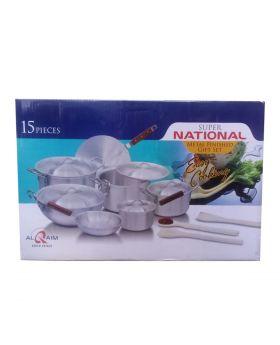 Super National Metal Finished Gift Set - 15 PCS