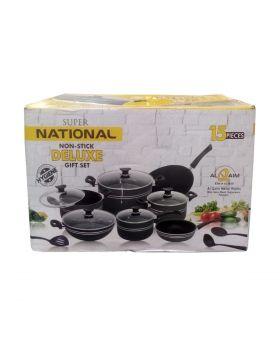 Super National Non-Stick Deluxe Gift Set - 15 Pcs
