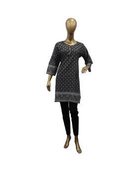 ladies-stitched-kurti-black-with-light-gray