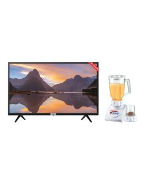 TCL LED 43S5200 Smart Android TV + National Romex Blender 2 In 1