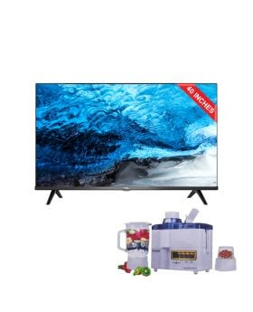 TCL 40S65A Full HD Android Smart LED TV + National Juicer 3 in 1 N-149