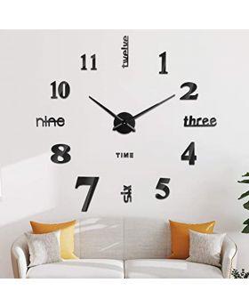 DIY 3D Stylish Wall Clock