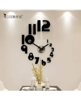 DIY 3D Acrylic Wall Clock