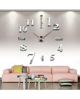 New DIY 3D Modern Style Wall Clock