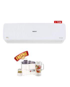 Orient 1 Ton Venus Bright White DC Inverter AC 12G + National 3 In 1 Juicer, Blender & Dry Mill SP-178-J