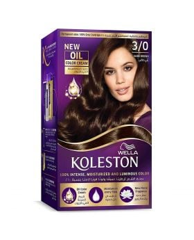 Wella Koleston Kit 3/0 Dark Brown Menap