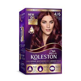 Wella Koleston Kit 4/6 Burgundy Menap