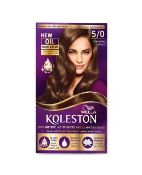 Wella Koleston Kit 5/0 Light Brown Menap