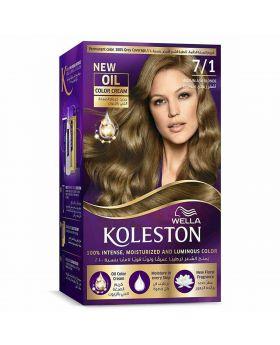 Wella Koleston Kit 7/1 Medium Ash Bl Menap