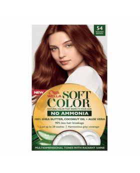 Wella Soft KIT 54 Redish Brown 125 ml