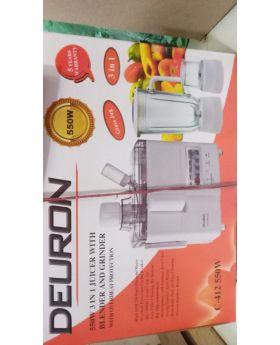 Deuron Juicer Blender 3 in 1 C-412