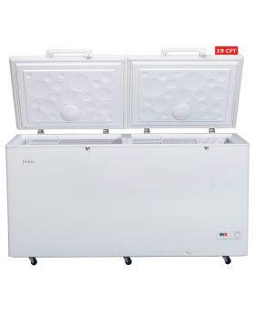 Haier Double Door Chest Freezer  (HDF-535) 19 CFT