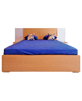 Wooden Style Bed Set