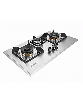 Xpert Appliances Steel Hob XST-3-117-Full-Brass